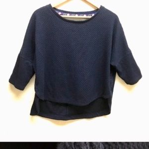 Deletta Anthropologie crop top